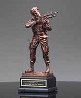 Picture of US Army Sculpture Trophy