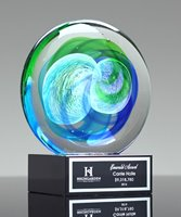 Picture of Art Glass Disc