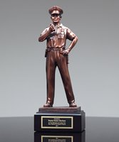 Picture of Policeman Sculpture