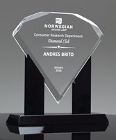 Picture of Distinction Diamond Acrylic Award