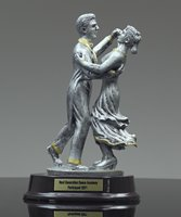 Picture of Traditional Dance Couple Resin Trophy