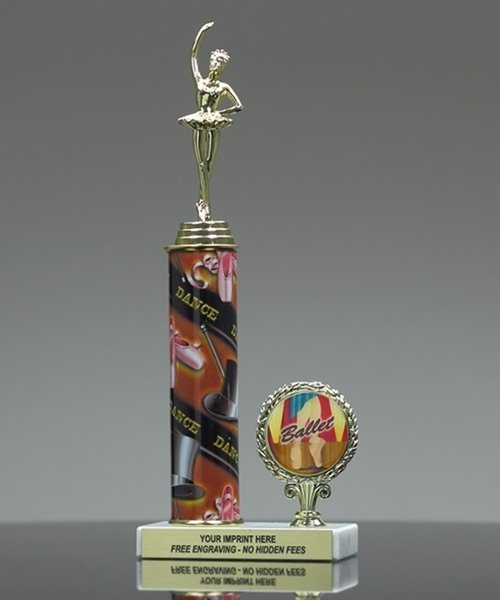 Picture of Ballet Photo Column Trophy