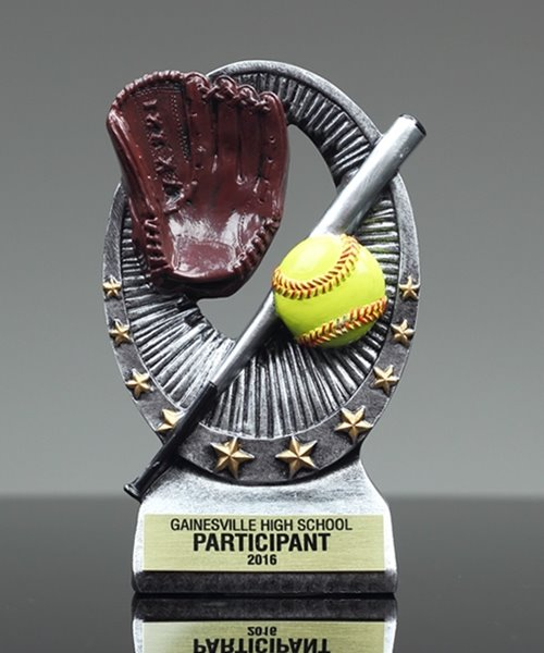 Picture of Softball Star Resin