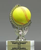 Picture of Squeezable Softball Spinner Trophy