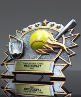 Picture of Silverstone 3-D Softball Award