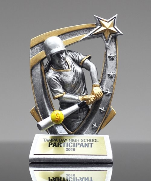 Picture of Softball 3D Star Award