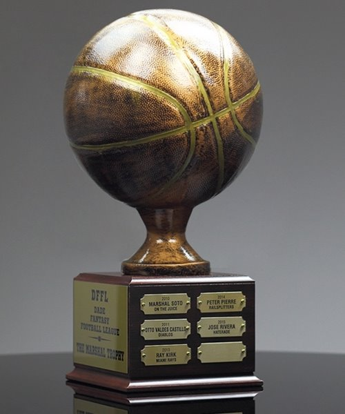 Picture of Basketball Hall of Fame Trophy
