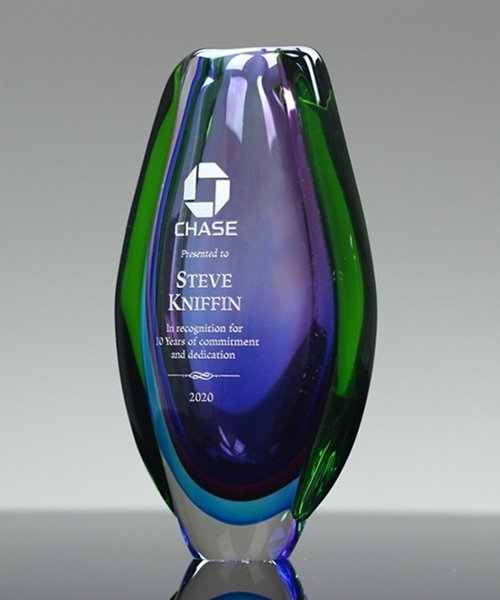 Picture of Sapphire Fontana Vase