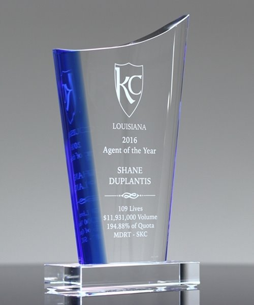 Picture of Optima Peak Crystal Award