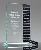 Picture of Distinction Perpetual Glass Award