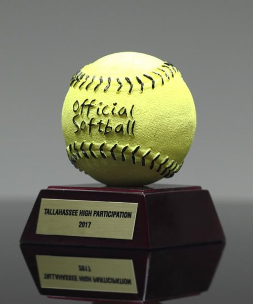Picture of Official Softball Participation Trophy