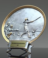 Picture of Silverstone Oval Softball Award