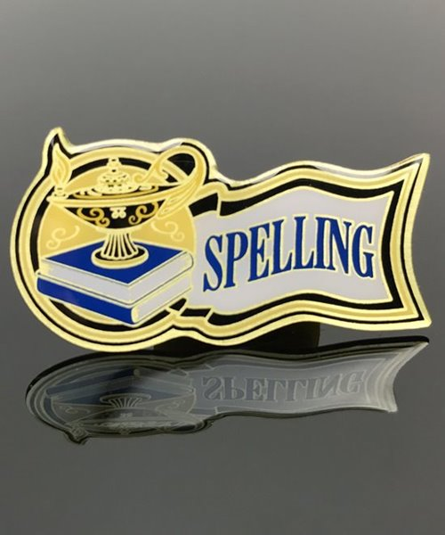 Picture of Spelling Award Pin