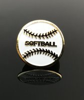Picture of Softball Lapel Pin