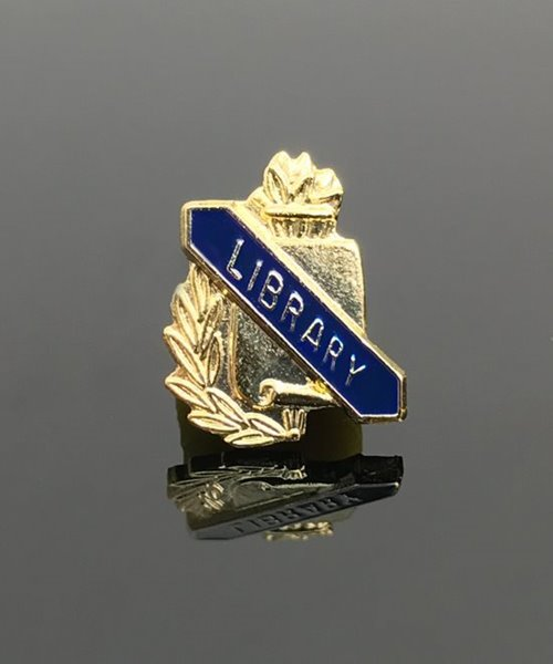 Picture of Library Lapel Pin