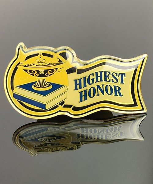 Picture of Highest Honor Pin