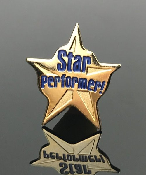 Picture of Star Performer Lapel Pin