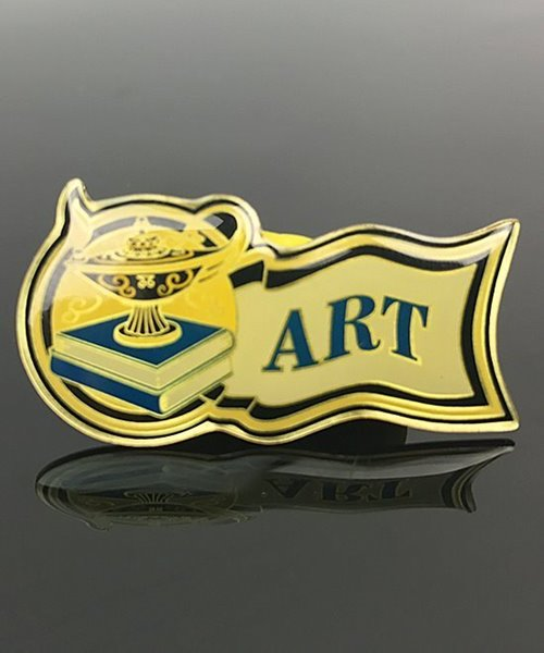 Picture of Art Award Pin