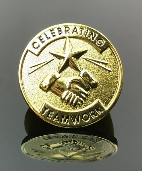 Picture of Celebrating Teamwork Pin