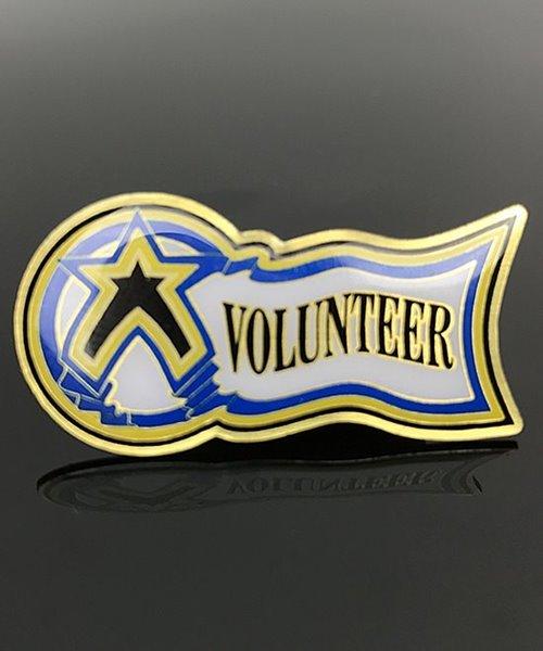 Picture of Volunteer Award Pin
