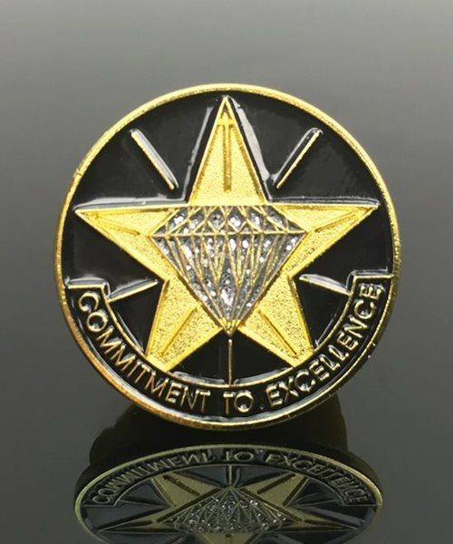 Picture of Commitment to Excellence Pin
