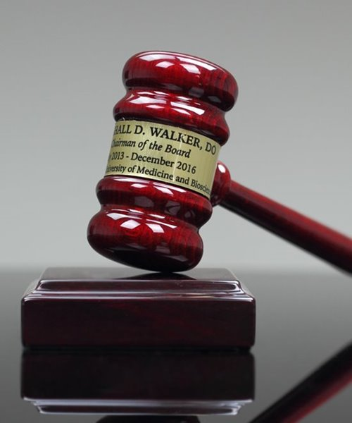 Picture of Premium Gavel in Gift Case