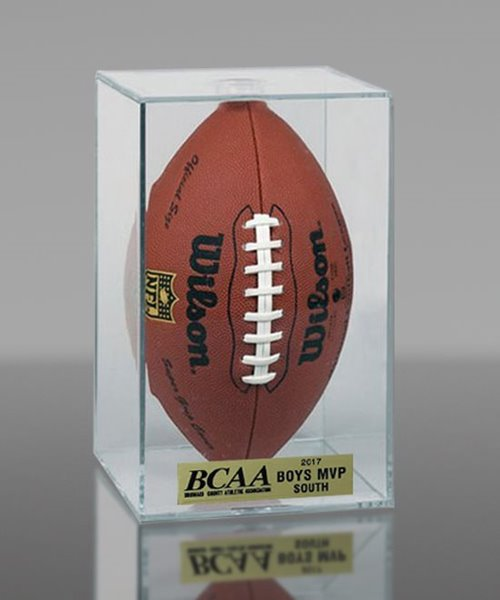 Picture of Football Display Cube