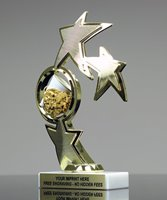 Picture of Superstar Cheerleader Spinner Trophy