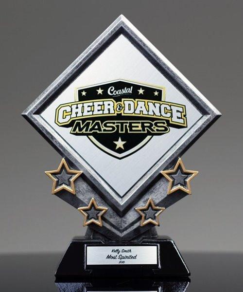 Picture of Diamond Star Plaque