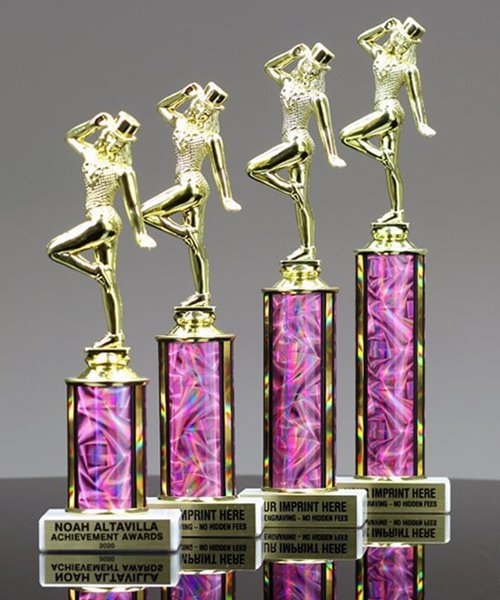 Picture of Pretty-in-Pink Value Line Trophy