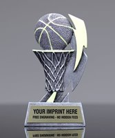 Picture of Glow In The Dark Basketball Trophy