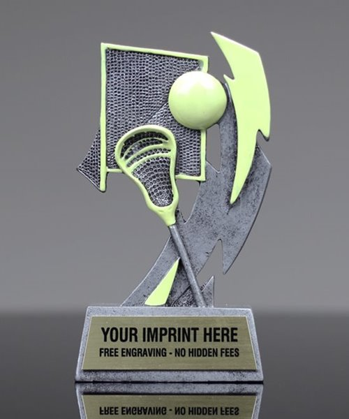 Picture of Glow In The Dark Lacrosse Trophy
