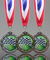 Picture of Epoxy-Domed Racing Medals