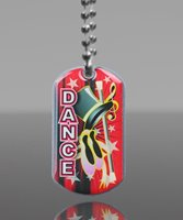 Picture of Dance Dog Tag
