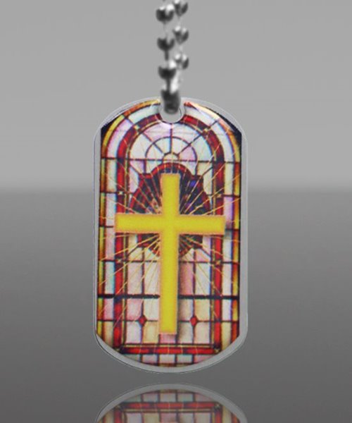 Picture of Religion Theme Dog Tag