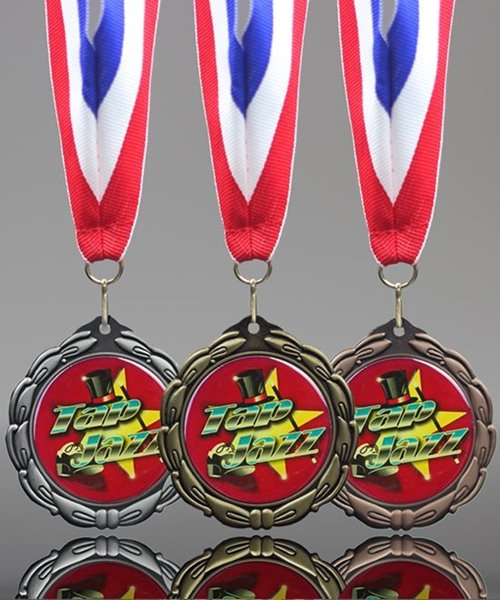 Picture of Epoxy-Domed Jazz Dance Medals
