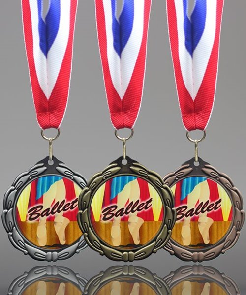 Picture of Epoxy-Domed Ballet Medals