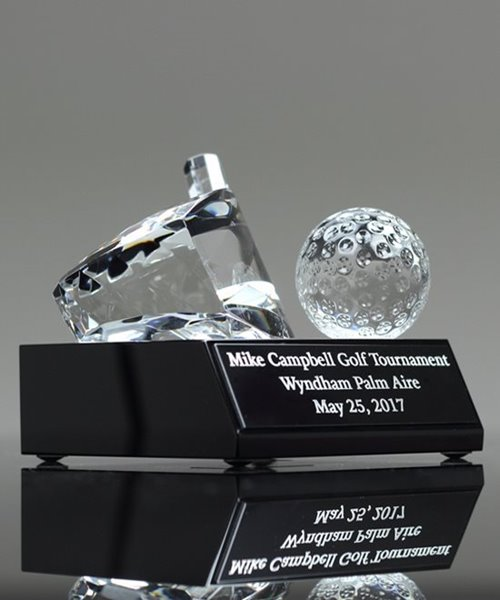 Picture of Crystal Golf Driver & Ball