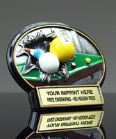 Picture of Burst Through Billiards Award