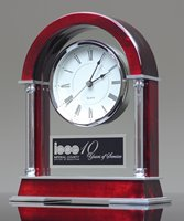 Picture of Rosewood Mantle Clock