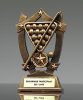 Picture of Star Shield Billiards Trophy