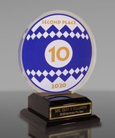 Picture of Custom Billiards Award