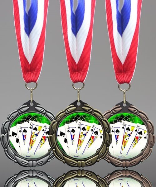 Picture of Poker Award Medal