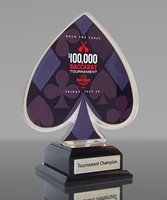 Picture of Logo-Cut Baccarat Award
