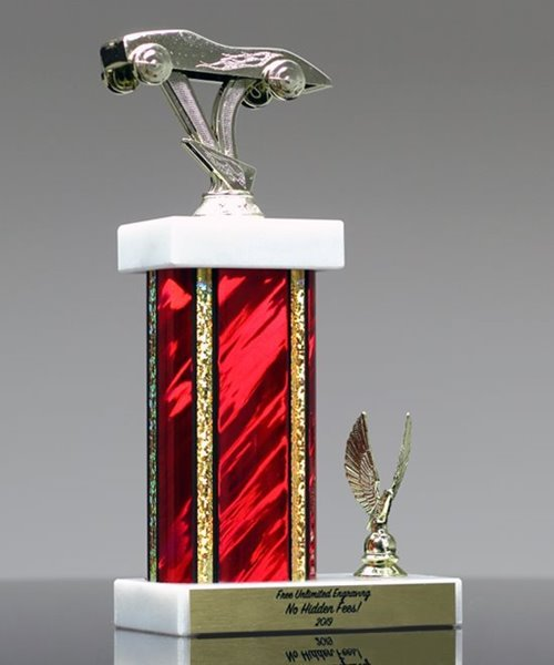 Picture of Classic Pinewood Derby Trophy