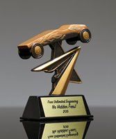 Picture of Pinewood Derby Star Resin