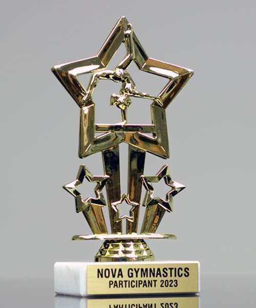 Picture of Sports Star Gymnastics Trophy
