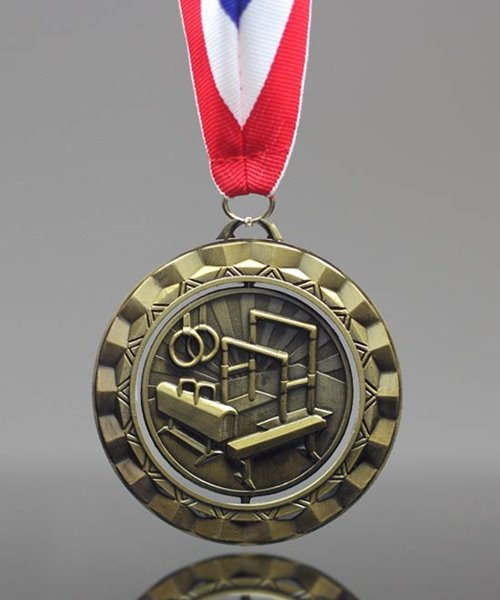 Picture of Gymnastics Spinner Medal