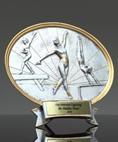 Picture of Silverstone Oval Female Gymnastics Trophy
