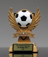 Picture of Victory Wing Soccer Trophy